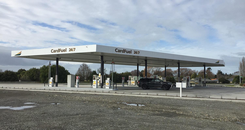 Commercial engineering services Otago - McKeown Fuel Station